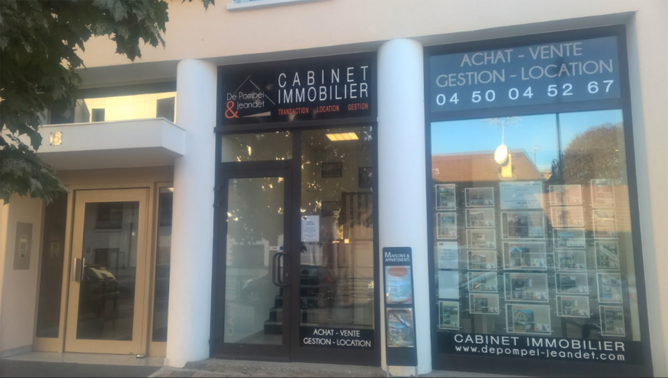 Cabinet immobilier agence depompei jeandet